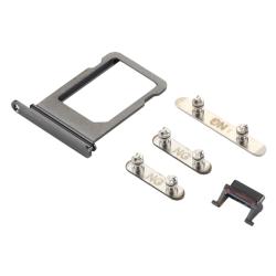 Simkortshållare & Sidoknappar - Hållare Simkort iPhone X / XS