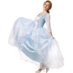 tectake Elegant prinsessklänning Cinderella Blue XXL