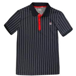 FILA Polo Stripes Polo Blue XL