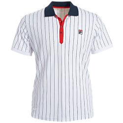 FILA Polo Stripes Polo White L