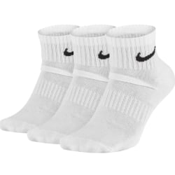 NIKE Everyday Cotton Ankle Vit 3-pack 38-42
