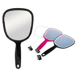 Sminkspegel med handtag - spegel Vit