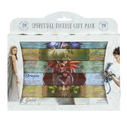 SPIRITUAL 6-Pack Rökelsestickor - Totalt ca 120 stickor.