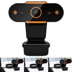 1080p Full-HD-sensor Laptopkamera Inbyggd brusreducerande mikrofon 1080P
