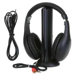 5 i 1 trådlösa trådlösa RF-hörlurar-headset