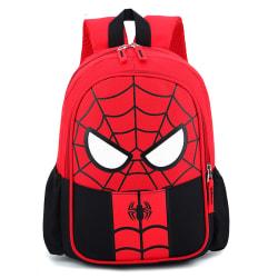 Pojke favorit födelsedagspresent Spiderman ryggsäck axlar skolväska Black spiderman