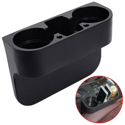 Bilkopphållare Mobiltelefonhållare som förhindrar spill. Black