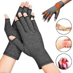 Kompressionshandskar Svettabsorberar sporthandskar med handskar L