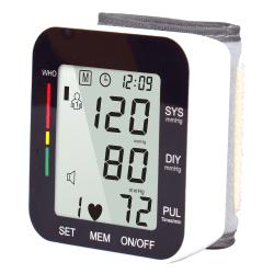 Storskärmsvisning Elektroniskt blodtrycksinstrumenthem