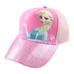Frozen Princess Aisha Print Girl's Hat Party Character Dress Up Pink
