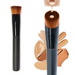 Girls Liquid Foundation Brush Perfect Concave Face Makeup Brush