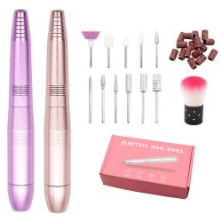 Högkvalitativ elektrisk naglarpolerare för vackert utseende Purple