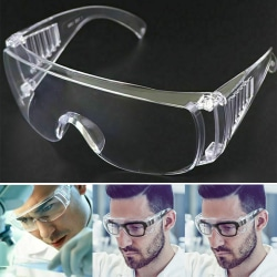 Safety Transparent Protective Goggles Health Care Eyes Care