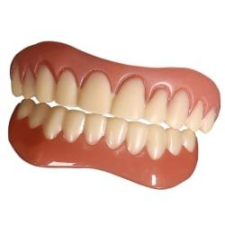 Simulerade silikonhållare skrattar naturligt bekvämt fanér Upper teeth