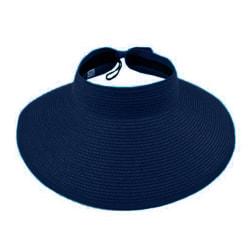 Snygg Tom stråhatt Solskydd Andningsbar enfärgad keps Dark blue