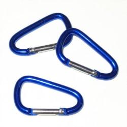 3 x Kabinhake blå
