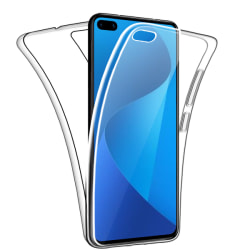 Huawei P40 Pro Dubbelsidigt 360 silikonfodral