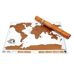 Scratch Map Original - världskarta att skrapa