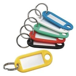 Nyckelbricka / nyckeletikett 10-pack