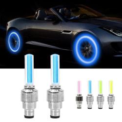 LED-lampa till däckventil blå 2-pack
