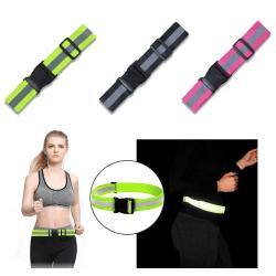 Reflexband - Säkerhetsband -Reflex för både vuxen och barn rosa