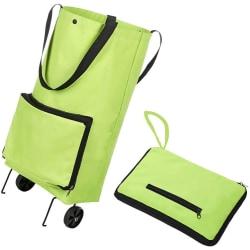 Shoppingvagn med hjul, shoppingväska, väska med hjul, dramaten