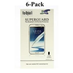 6-Pack Skärmskydd LG Stylus 2 (K520)