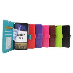 Crazy Horse Wallet Nokia 3.2 Brun