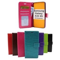 Crazy Horse Wallet Samsung Galaxy A32 4G (SM-A325F) Svart
