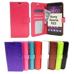 Crazy Horse Wallet Sony Xperia XZ2 (H8266) Svart