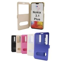 Flipcase Nokia 3.1 Plus Hotpink
