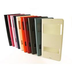 Flipcase Sony Xperia Z3 (D6603) Vit