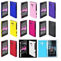 Hardcase skal Sony Xperia Acro S (LT26w) Svart