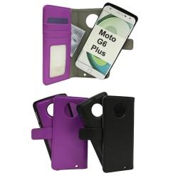 Magnet Wallet Motorola Moto G6 Plus Svart