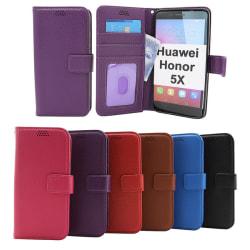 New Standcase Wallet Huawei Honor 5X Svart