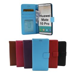 New Standcase Wallet Huawei Mate 10 Pro Ljusblå