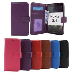 New Standcase Wallet Nokia 2.1 Brun