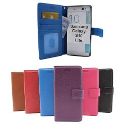 New Standcase Wallet Samsung Galaxy Note 10 Lite (N770F) Blå