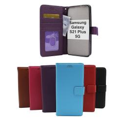 New Standcase Wallet Samsung Galaxy S21 Plus 5G (G996B) Svart