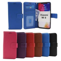 New Standcase Wallet Xiaomi Mi 8 Lila