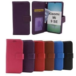 New Standcase Wallet Xiaomi Mi 9 SE Svart