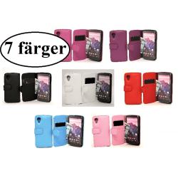 Plånboksfodral Google Nexus 5 (LG) Vit