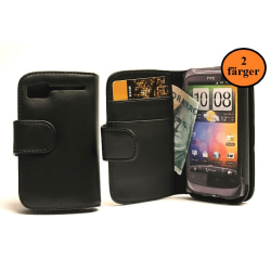 Plånboksfodral HTC Desire S Rosa