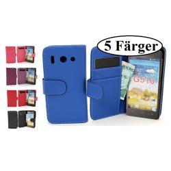 Plånboksfodral Huawei Ascend G510 Lila