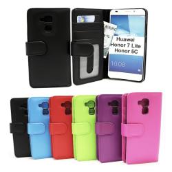 Plånboksfodral Huawei Honor 7 Lite (NEM-L21) Grön