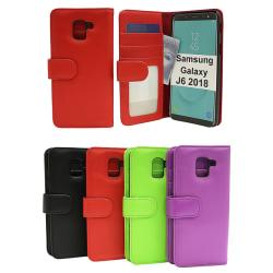Plånboksfodral Samsung Galaxy J6 2018 (J600FN/DS) Röd