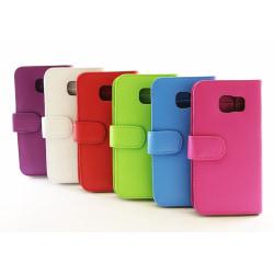 Plånboksfodral Samsung Galaxy S6 Edge (G925F) Vit