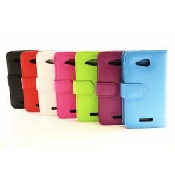 Plånboksfodral Sony Xperia E4g (E2003) Ljusblå