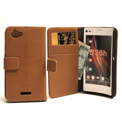 Plånboksfodral Sony Xperia L (S36h) Svart
