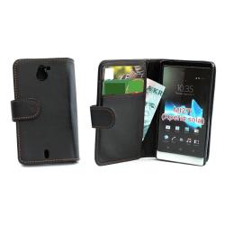 Plånboksfodral Sony Xperia Sola svart